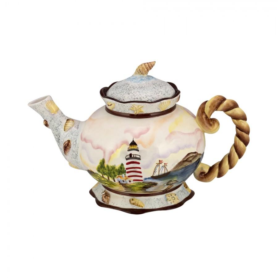 Τσαγιέρα Κεραμική WM Collection 20,5×32εκ. N200-436 (Υλικό: Κεραμικό) – WM COLLECTION – N200-436-tea