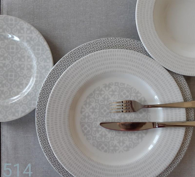 Σερβίτσιο Φαγητού Σετ 40τμχ Πορσελάνης Bavaria AB 514 (Υλικό: Πορσελάνη) – AB – 6-514-40