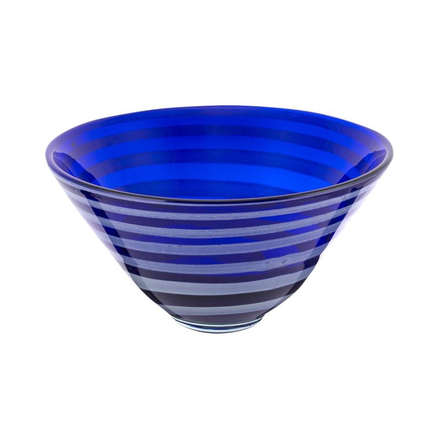 Φρουτιέρα Φυσητό Γυαλί WM Collection 27×18εκ. N737/49-2 (Υλικό: Γυαλί, Χρώμα: Λευκό) – WM COLLECTION – N737/49-2