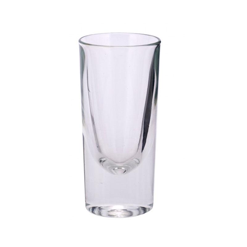 Ποτήρι Σφηνάκι Σετ 6τμχ Γυάλινα WM Collection 110ml NLEV/30/24 (Υλικό: Γυαλί, Χρώμα: Διάφανο ) – WM COLLECTION – NLEV/30/24