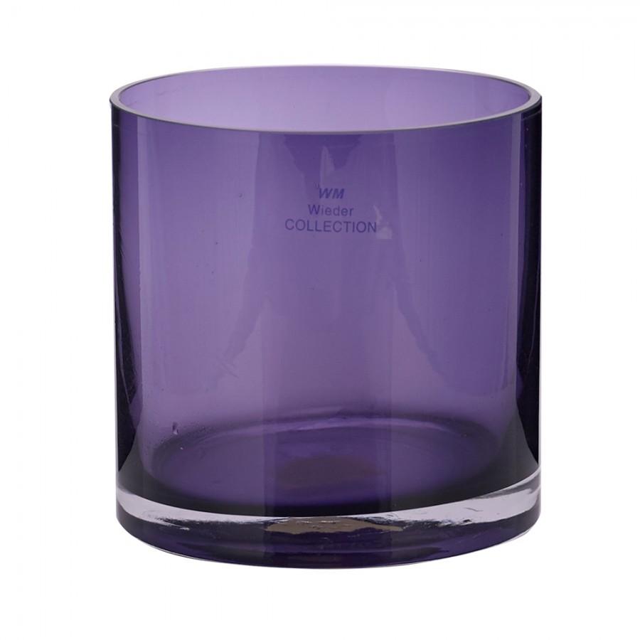 Παγοδοχείο Γυάλινο WM Collection 12×13εκ. NVL (Υλικό: Γυαλί, Χρώμα: Μωβ) – WM COLLECTION – NVL-ice
