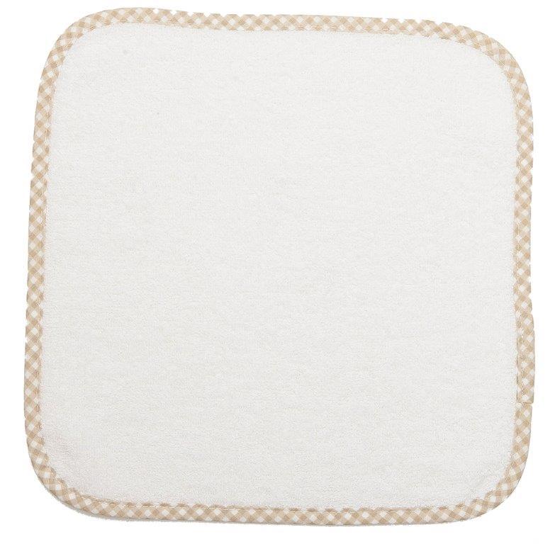 Λαβέτα 30×30εκ. 21 White-Beige Dimcol (Ύφασμα: Βαμβάκι 100%, Χρώμα: Λευκό) – DimCol – 1213512400002152