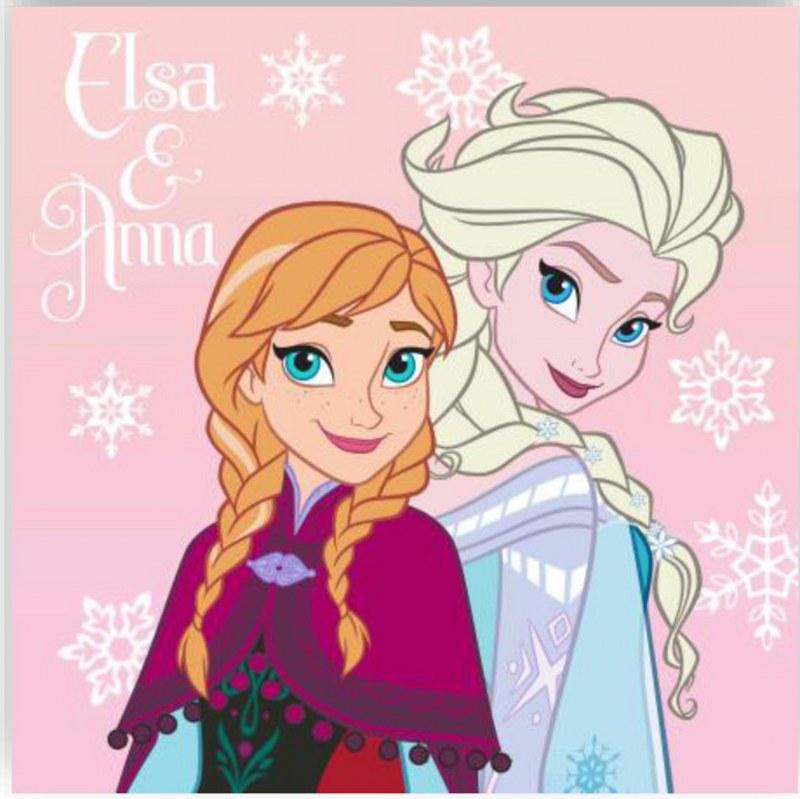 Λαβέτα-Μαγική Πετσέτα 30×30εκ. Digital Print Frozen 02 Disney Dimcol (Ύφασμα: Βαμβάκι 100%) – Disney – 2120512400600299