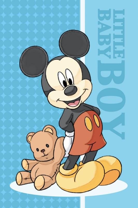 Πετσέτα Προσώπου Μεμονομένη 40×60εκ. Digital Print Mickey 01 Disney Dimcol (Ύφασμα: Βαμβάκι 100%) – Disney – 2121812701000199