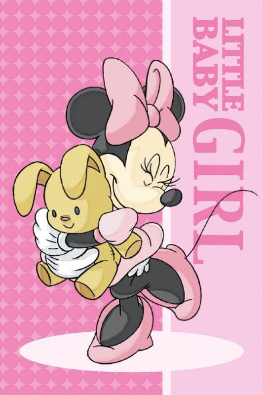 Πετσέτα Προσώπου Μεμονομένη 40×60εκ. Digital Print Minnie 01 Disney Dimcol (Ύφασμα: Βαμβάκι 100%) – Disney – 2121812701100199