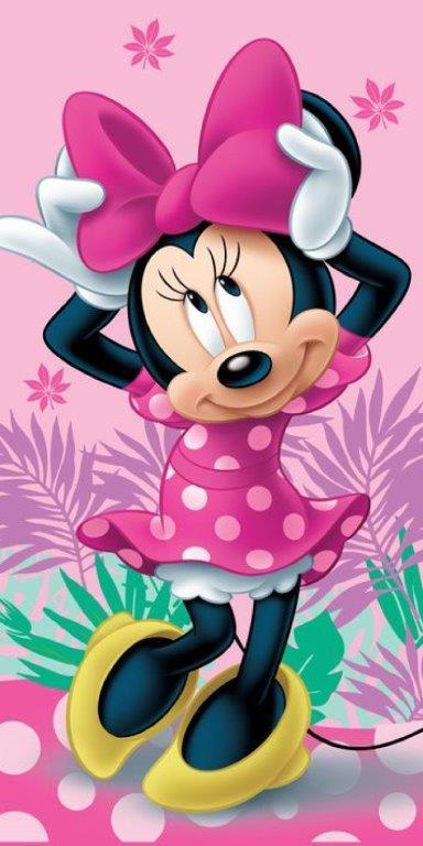 Πετσέτα Θαλάσσης 70×140εκ. Minnie 05 Disney Dimcol (Ύφασμα: Βαμβάκι 100%) – Disney – 2123713501100599