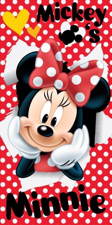 Πετσέτα Θαλάσσης 70×140εκ. Minnie 06 Disney Dimcol (Ύφασμα: Βαμβάκι 100%) – Disney – 2123713501100699