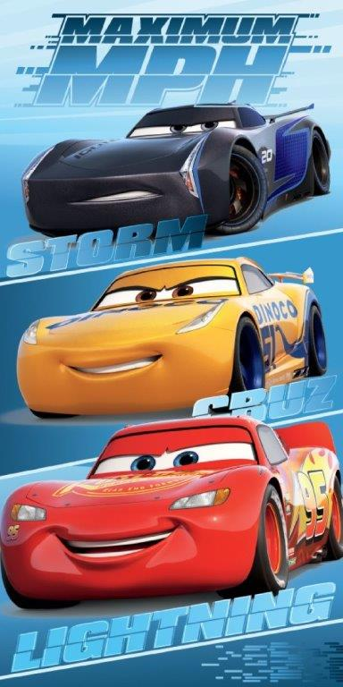 Πετσέτα Θαλάσσης 70x140εκ. Cars 10 Disney Dimcol (Ύφασμα: Βαμβάκι 100%) - Disney - 2123713500401099