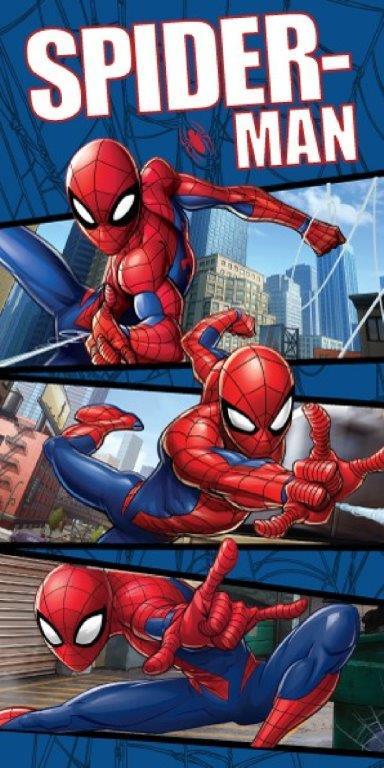 Πετσέτα Θαλάσσης 70×140εκ. Spiderman 11 Disney Dimcol (Ύφασμα: Βαμβάκι 100%) – Disney – 2123713505201199