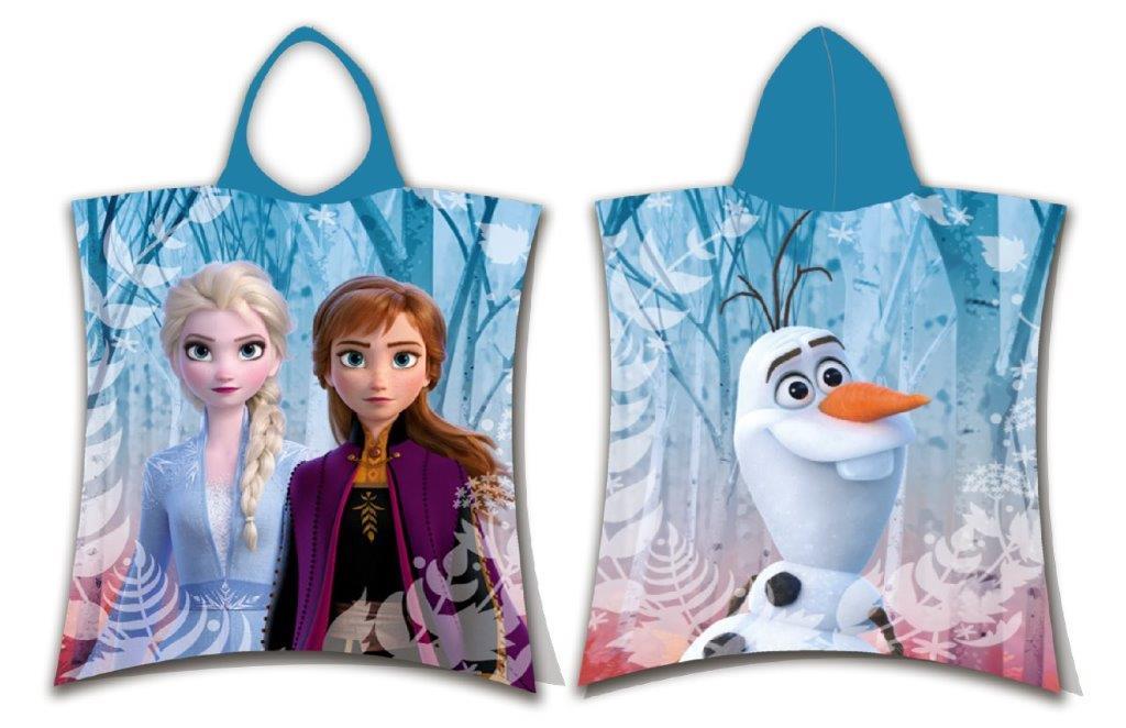Πόντσο Παιδικό 50×115εκ. Frozen 02 Disney Dimcol (Ύφασμα: Βαμβάκι 100%) – Disney – 2123816500600299
