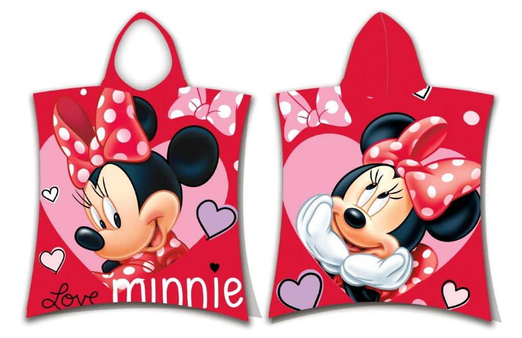 Πόντσο Παιδικό 50×115εκ. Minnie 05 Disney Dimcol (Ύφασμα: Βαμβάκι 100%) – Disney – 2123816501100599
