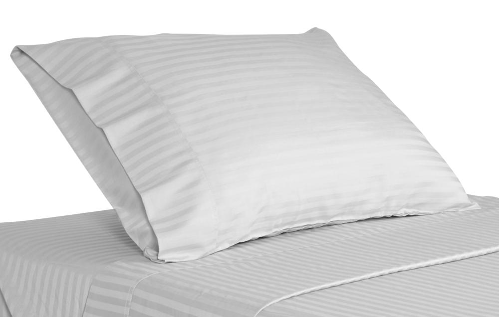 Μαξιλαροθήκη Oxford 55×75εκ. 70% Βαμβάκι-30% Polyester 240TC Με Ρίγα 1cm Polycotton Luxury Line – OEM – 5201847006803