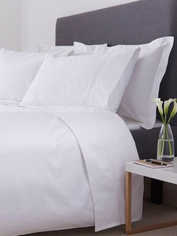 Σεντόνι 280×300εκ. 70% Βαμβάκι-30% Polyester 200TC Polycotton Premium Line (Ύφασμα: Cotton 70% – Polyester 30%, Χρώμα: Λευκό) – OEM – 5201847007244