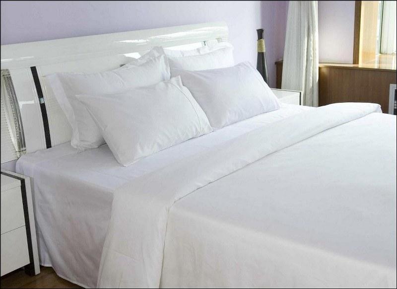 Σεντόνι 240×280εκ. 100% Βαμβακερό TC170 Cotton Classic Line (Ύφασμα: Βαμβάκι 100%, Χρώμα: Λευκό) – OEM – 5201847007411