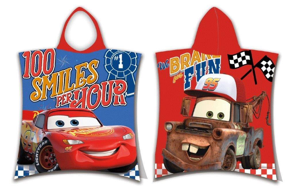 Πόντσο Παιδικό 50x115εκ. Cars 06 Disney Dimcol (Ύφασμα: Βαμβάκι 100%) - Disney - 2123816500400699