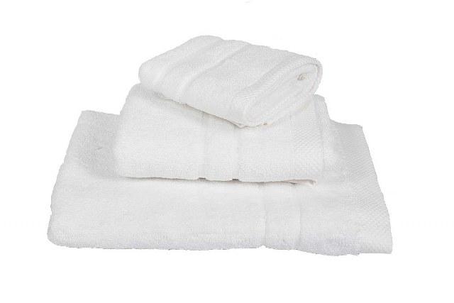 Πετσέτα 50×95εκ. 600gr/m2 Prime Line (Ύφασμα: Βαμβάκι 100%, Χρώμα: Λευκό) – OEM – 5201847119992