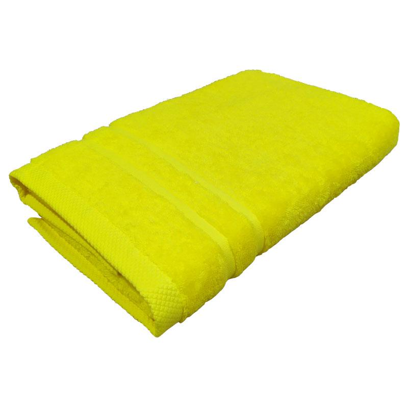 Πετσέτα Πισίνας 80x160εκ. 600gr/m2 Pool Superb Line Yellow (Ύφασμα: Βαμβάκι 100%, Χρώμα: Κίτρινο ) - OEM - 5201847010770-1