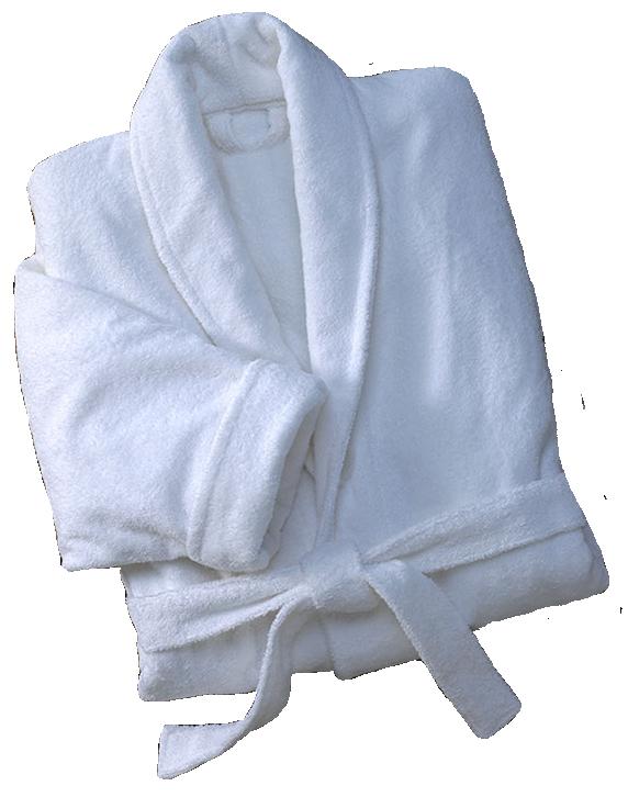 Μπουρνούζι Πετσετέ Με Γιακά Standard Line Extra Large (Ύφασμα: Βαμβάκι 100%, Χρώμα: Λευκό) – OEM – 5201847111323XL