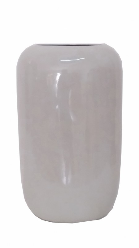 Βάζο Κεραμικό-Πορσελάνης PAPSHOP 20x16x35εκ. CH06 (Υλικό: Κεραμικό, Χρώμα: Λευκό) - PAPADIMITRIOU INTERIOR PAPSHOP - CH06