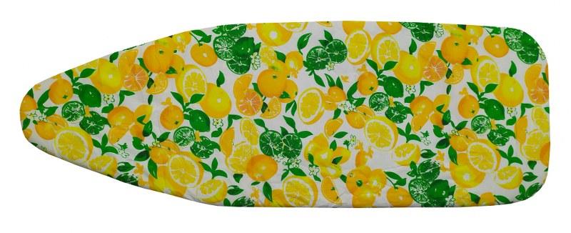 Σιδερόπανο 140×50εκ. Polycotton Lemons&Oranges – KOMVOS HOME – 7006148-2