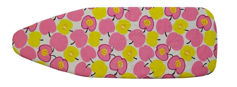 Σιδερόπανο 140×50εκ. Polycotton Pink Apples (Χρώμα: Ροζ) – KOMVOS HOME – 7006148-4