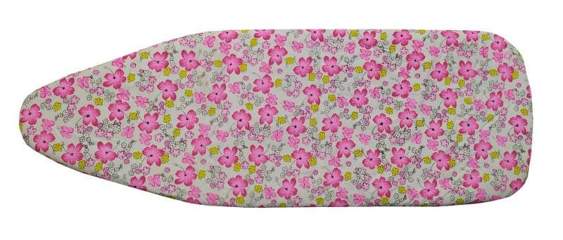Σιδερόπανο 140×50εκ. Polycotton Pink Flowers (Χρώμα: Ροζ) – KOMVOS HOME – 7006148-5