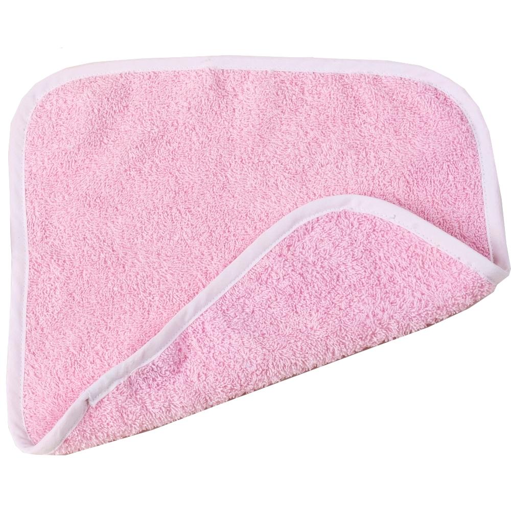 Λαβέτα Βαμβακερή 30×30εκ. Pink (Ύφασμα: Βαμβάκι 100%, Χρώμα: Λευκό) – Ο Κόσμος του Μωρού – 5205626151142