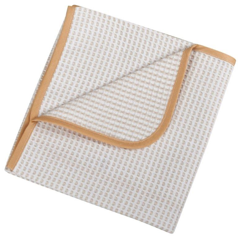 Κουβέρτα Πικέ Βαμβακερή Κούνιας 100×150εκ. 0333 Beige – Ο Κόσμος του Μωρού – 5205626003335-beige