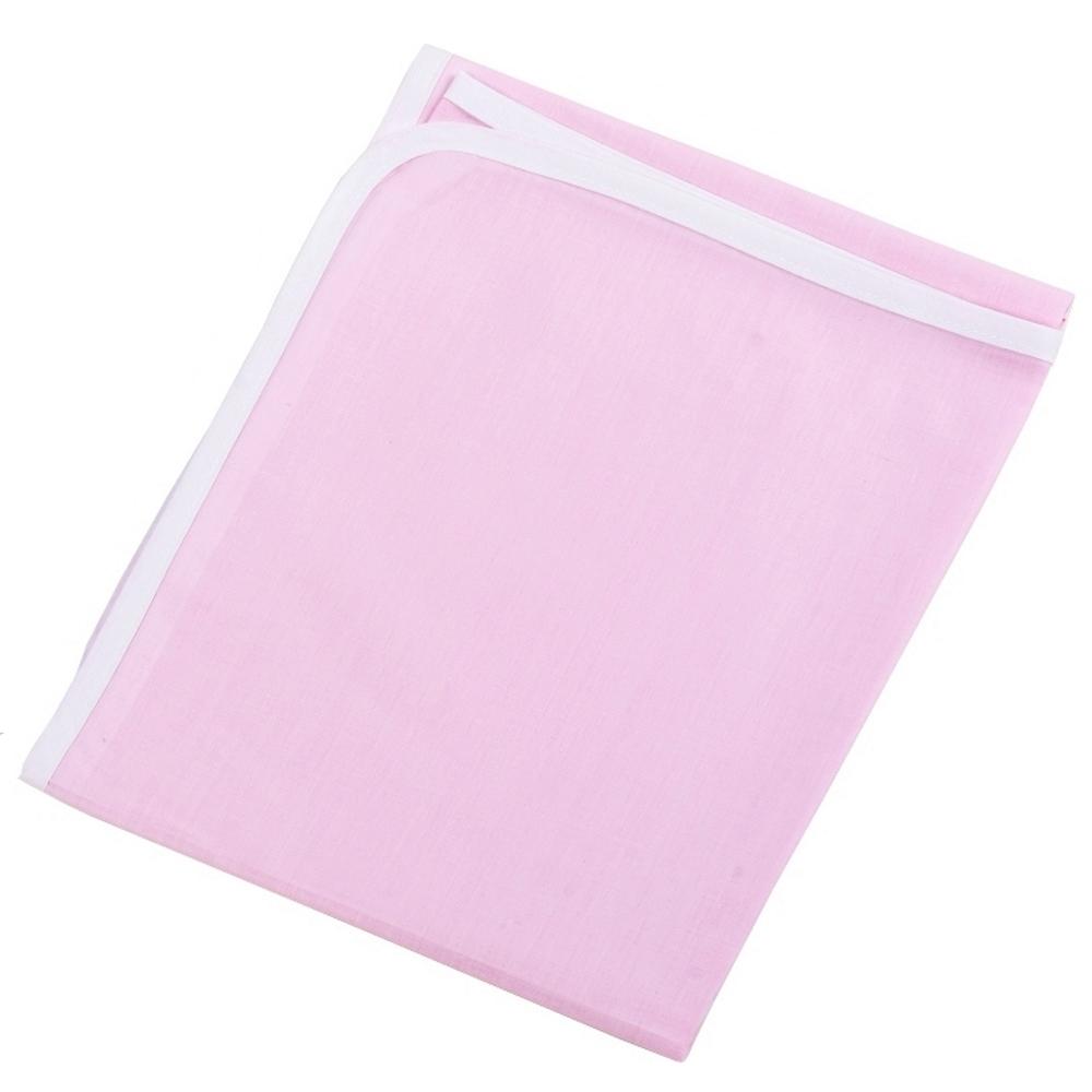 Πάνα Χασές Βαμβακερή Bebe 90×90εκ. Pink (Ύφασμα: Βαμβάκι 100%, Χρώμα: Λευκό) – Ο Κόσμος του Μωρού – 5205626301141