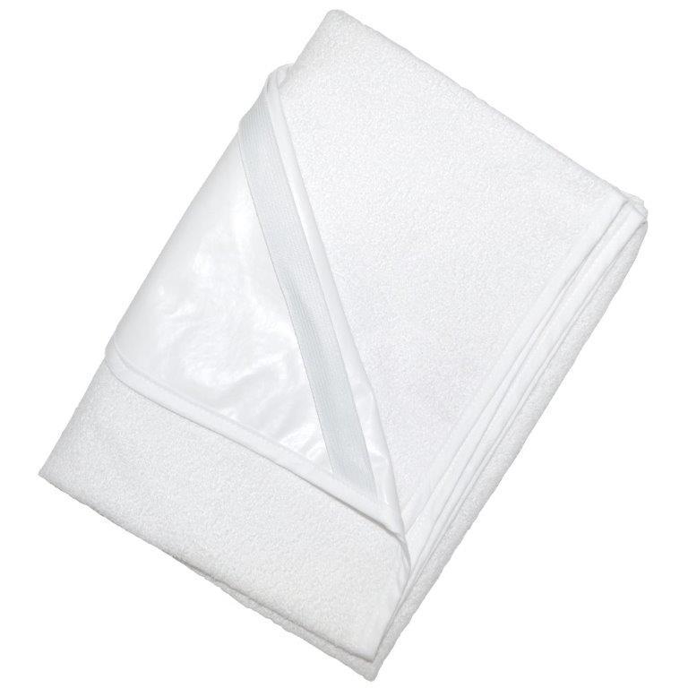 Σελτεδάκι Αδιάβροχο Κούνιας 60×120εκ. (Ύφασμα: 80% Cotton – 20% Polyester, Χρώμα: Λευκό) – Ο Κόσμος του Μωρού – 5205626123149