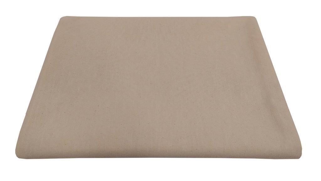 Τραπεζομάντηλο-Λονέτα Υφαντό 140×140εκ. Solid Sand (Ύφασμα: 50%Cotton-50%Polyester, Χρώμα: Εκρού ) – KOMVOS HOME – 7003833-3