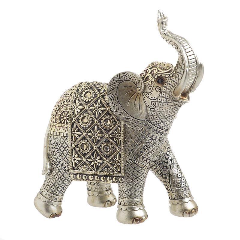 Διακοσμητικός Ελέφαντας Polyresin inart 22x10x25εκ. 3-70-547-0783 (Υλικό: Polyresin, Χρώμα: Χρυσό ) – inart – 3-70-547-0783
