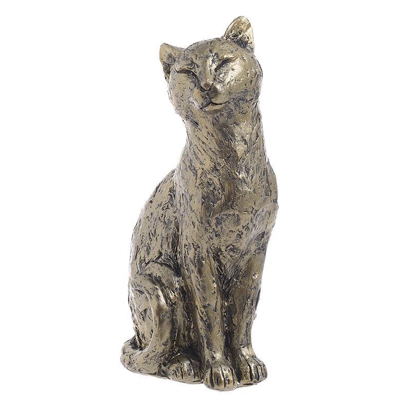 Διακοσμητική Γάτα Polyresin Αντικέ inart 11x8x22εκ. 3-70-401-0076 (Υλικό: Polyresin, Χρώμα: Χρυσό ) – inart – 3-70-401-0076