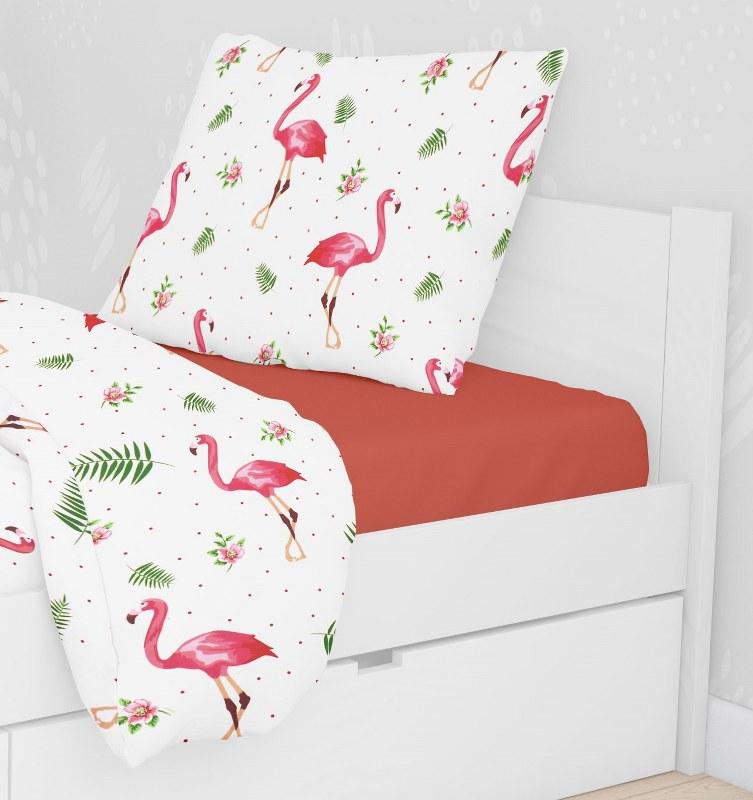 Μαξιλαροθήκη Polycotton 50×70εκ. Flamingo 292 Dimcol (Ύφασμα: 70% Βαμβάκι-30% Polyester) – DimCol – 1925883125129298