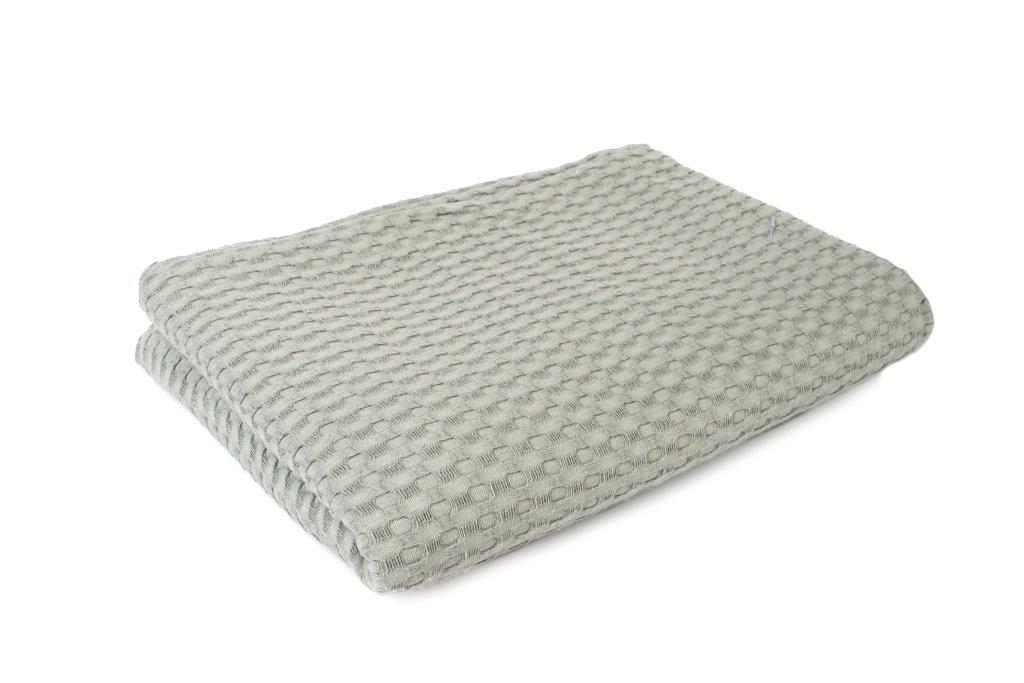 Κουβέρτα Πικέ King 245×255εκ. Dimcol (Ύφασμα: Βαμβάκι 100%, Χρώμα: Γκρι) – DimCol – 1930418888633504