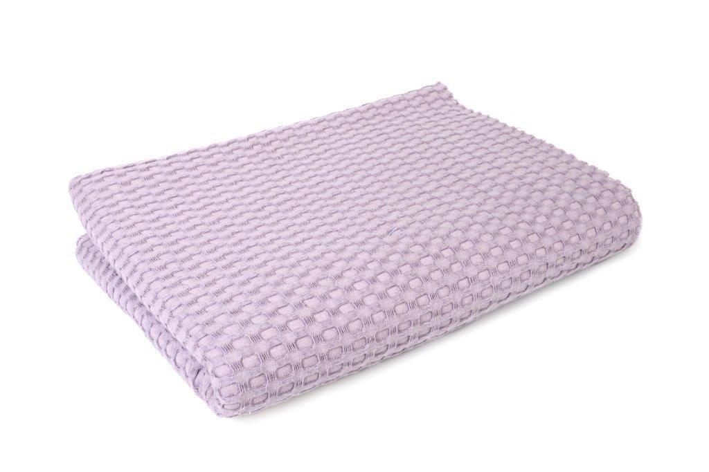 Κουβέρτα Πικέ King 245x255εκ. Dimcol (Ύφασμα: Βαμβάκι 100%, Χρώμα: Μωβ) - DimCol - 1930418888633524