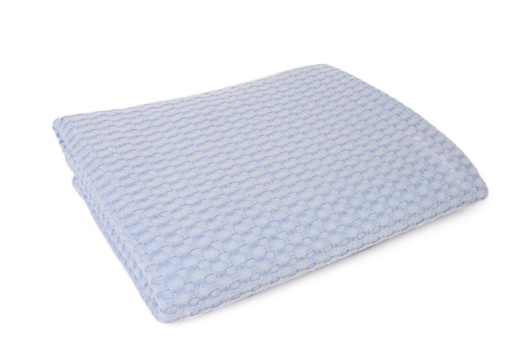 Κουβέρτα Πικέ King 245×255εκ. Dimcol (Ύφασμα: Βαμβάκι 100%, Χρώμα: Γαλάζιο ) – DimCol – 1930418888633528
