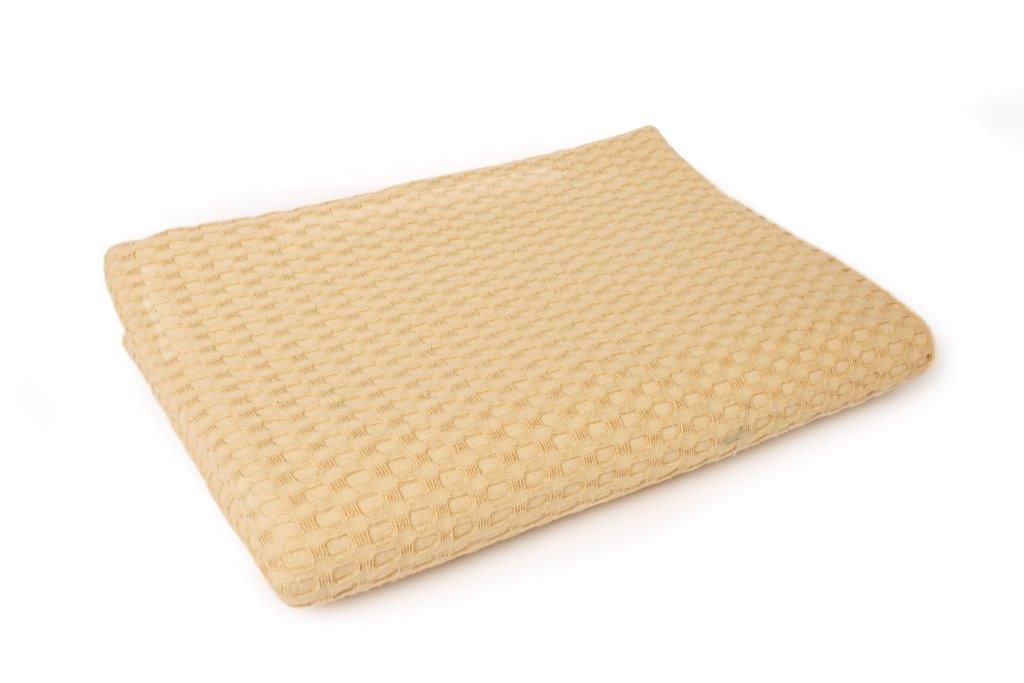Κουβέρτα Πικέ King 245×255εκ. Dimcol (Ύφασμα: Βαμβάκι 100%, Χρώμα: Ώχρα) – DimCol – 1930418888633590