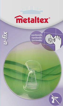 Γάντζος 8,5εκ. Επαναχρησιμοποιούμενος 16-294805 Metaltex – METALTEX – 16-294805-green