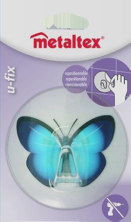 Γάντζος 8,5εκ. Επαναχρησιμοποιούμενος 16-294805 Metaltex – METALTEX – 16-294805-butterfly