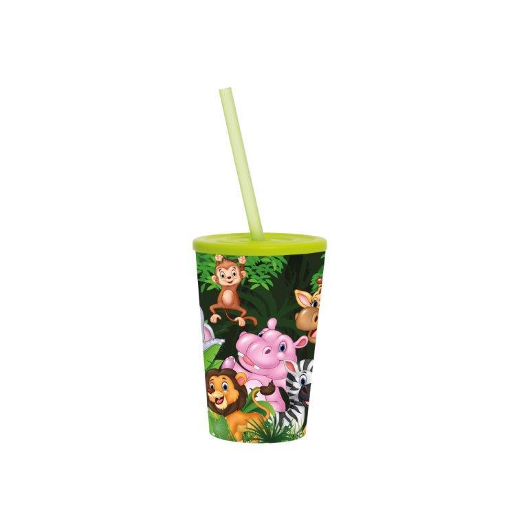 Ποτήρι Νερού Πλαστικό 340cc Veltihome 161914-001 (Υλικό: Πλαστικό) – VELTIHOME – 161914-001