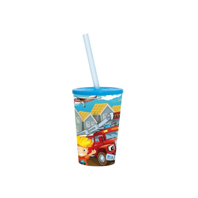 Ποτήρι Νερού Πλαστικό 340cc Veltihome 161914-002 (Υλικό: Πλαστικό) – VELTIHOME – 16190-red-car