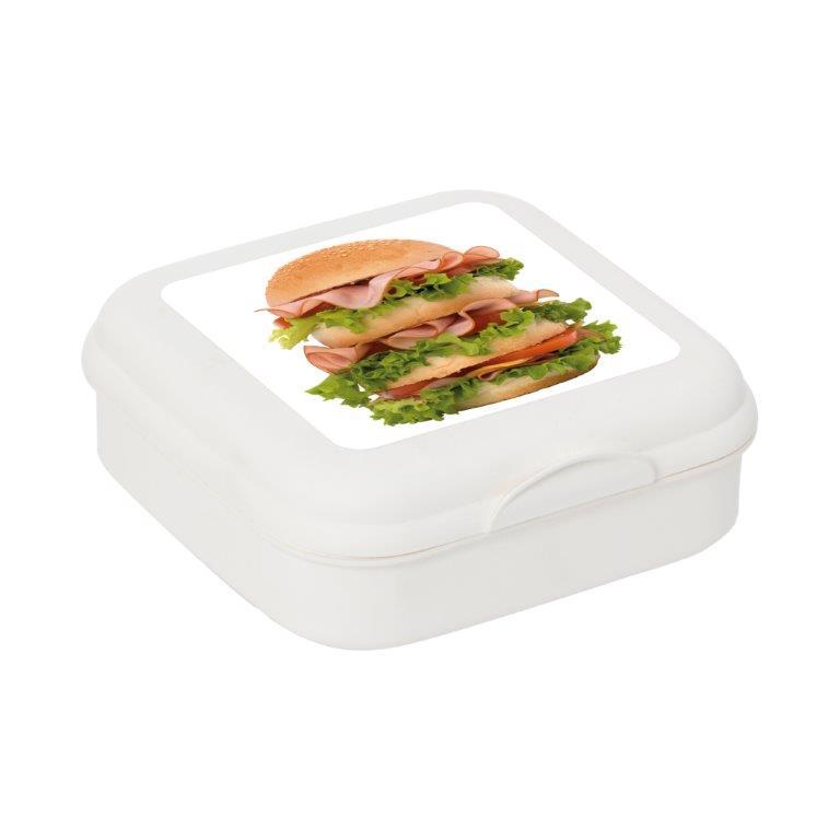 Φαγητοδοχείο Πλαστικό Sandwich Veltihome 161457-005 (Υλικό: Πλαστικό, Χρώμα: Λευκό) – VELTIHOME – 161457-005