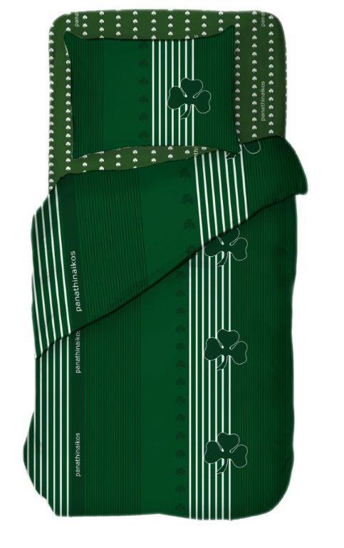 Σετ Παπλωματοθήκη Βαμβακερή Ημίδιπλη 160×240εκ. Palamaiki FC8 (Ύφασμα: Βαμβάκι 100%) – Palamaiki – 5205857209780