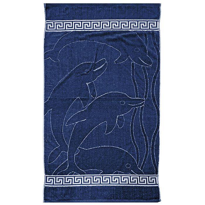 Πετσέτα Θαλάσσης Jacquard 75×150εκ. Summer Tiempo (Χρώμα: Μπλε) – SUMMER tiempo – 42-825-dark-blue