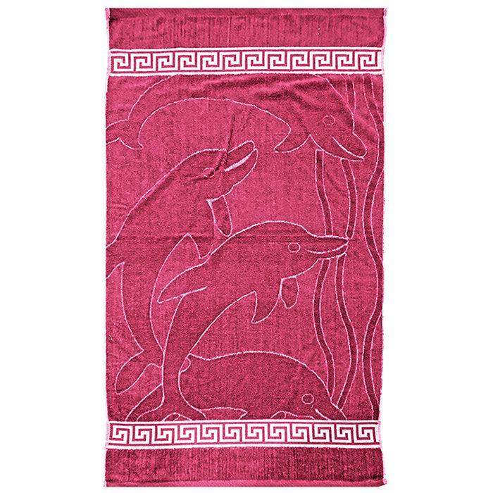 Πετσέτα Θαλάσσης Jacquard 75×150εκ. Summer Tiempo (Χρώμα: Φούξια) – SUMMER tiempo – 42-825-foucshia