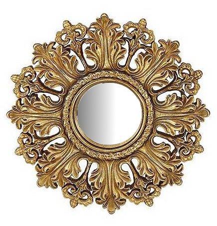 Καθρέπτης Τοίχου Ξύλινος – Polyresin Αντικέ PAPSHOP 19,7×19,7εκ. KI40 (Υλικό: Ξύλο, Χρώμα: Χρυσό ) – PAPADIMITRIOU INTERIOR PAPSHOP – KI40