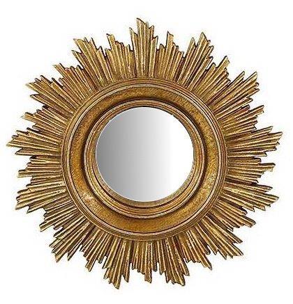 Καθρέπτης Τοίχου Ξύλινος – Polyresin Αντικέ PAPSHOP 18×18εκ. KI41 (Υλικό: Ξύλο, Χρώμα: Χρυσό ) – PAPADIMITRIOU INTERIOR PAPSHOP – KI41