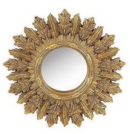 Καθρέπτης Τοίχου Ξύλινος – Polyresin Αντικέ PAPSHOP 22×22εκ. KI42 (Υλικό: Ξύλο, Χρώμα: Χρυσό ) – PAPADIMITRIOU INTERIOR PAPSHOP – KI42