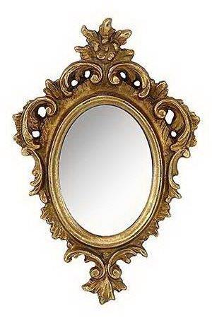 Καθρέπτης Τοίχου Ξύλινος – Polyresin Αντικέ PAPSHOP 11×17εκ. KI45 (Υλικό: Ξύλο, Χρώμα: Χρυσό ) – PAPADIMITRIOU INTERIOR PAPSHOP – KI45